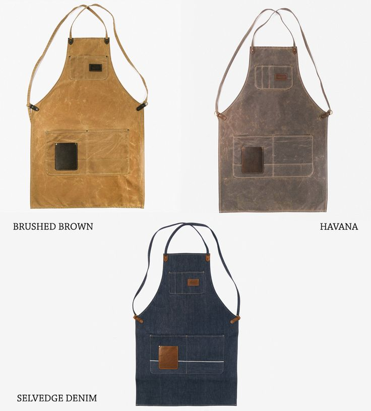 Winston Work Apron by Red Clouds Collective