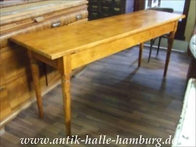 Küchen - oder Esstisch antik ausziehbar mit Schublade - Rarität - küchentisch mit schublade
