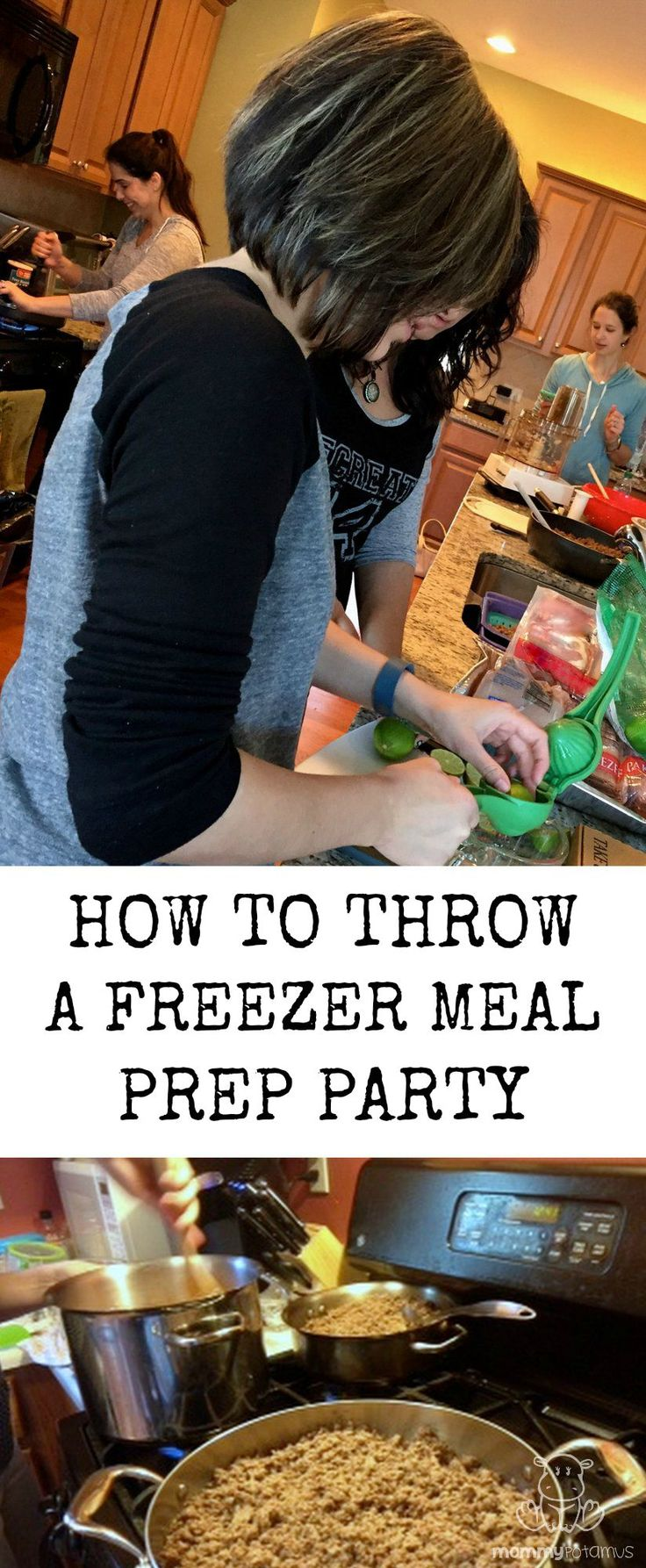 Ever wish you could take a week off from making dinner while still eating delicious, healthy food? Or maybe you prefer to have back-up meals for when life gets overwhelming?   This post shows you how to make that happen WHILE having fun with friends.