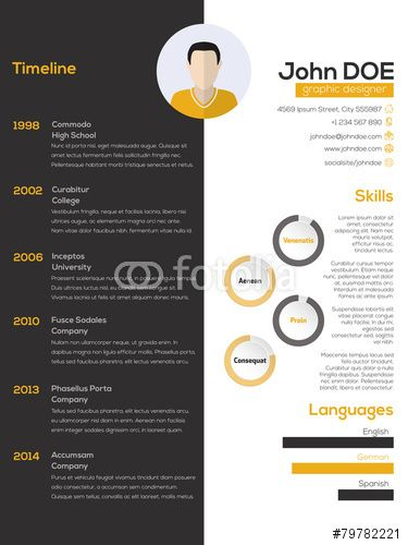 35 best images about CV on Pinterest - photography resume