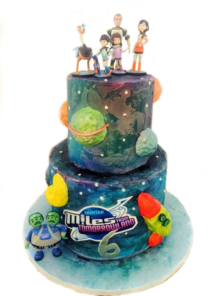 Miles From Tomorrowland 6th Birthday cake