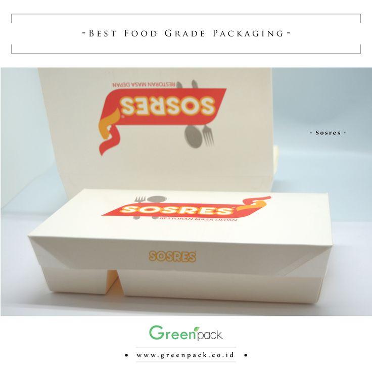 Dus Makanan Sosres ini merupakan #Greenpack tipe 5C-2314, Cocok sekali digunakan untuk nasi bento, nasi campur, nasi uduk, nasi padang, dll. Untuk informasi lebih lanjut atau pemesanan dapat mengunjungi website kami di : http://www.greenpack.co.id/