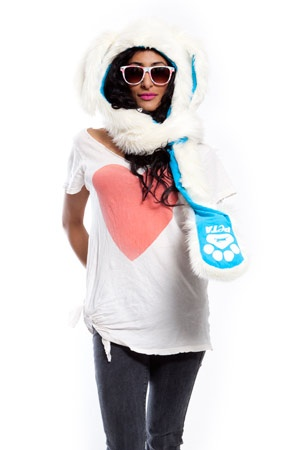 PETA Bunny SpiritHood! #vegan #fashion #cute #crueltyfree: Spirithood Inneranim, Female Spirithood, Spirithood Wishlist, Peta Spirithood 3, Bunnies Spirithood