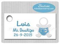 BA133TT Etiqueta Detalle Bautizo