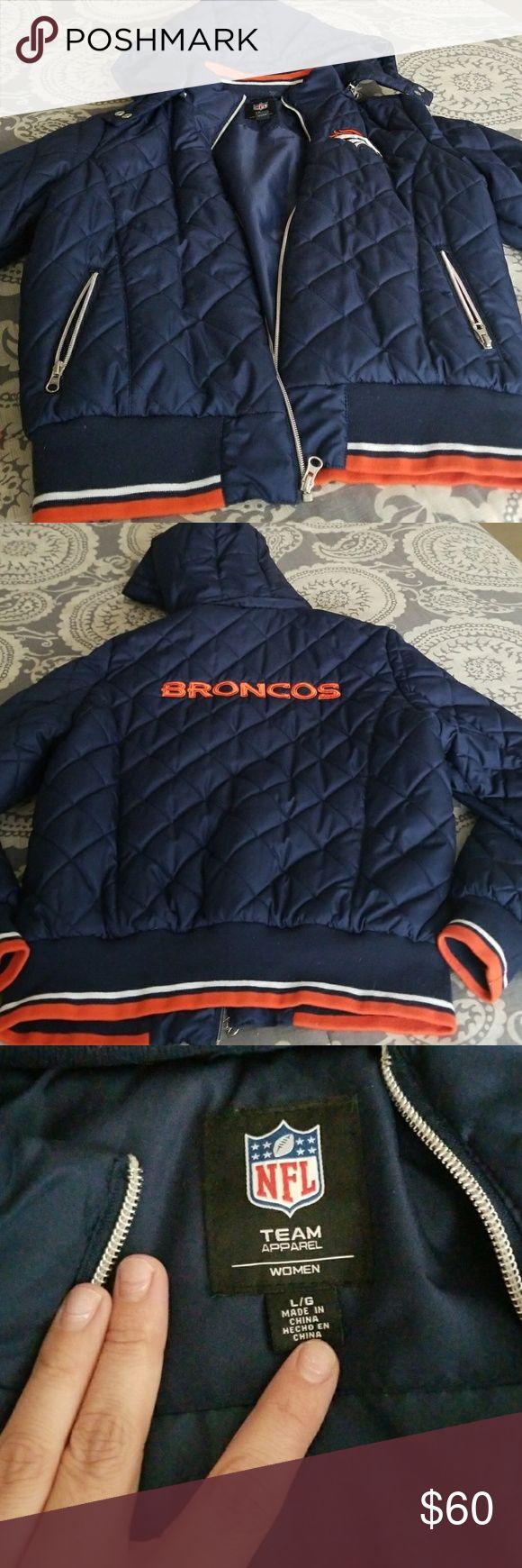 Denver Broncos jacket Like new NFL Jackets & Coats Puffers