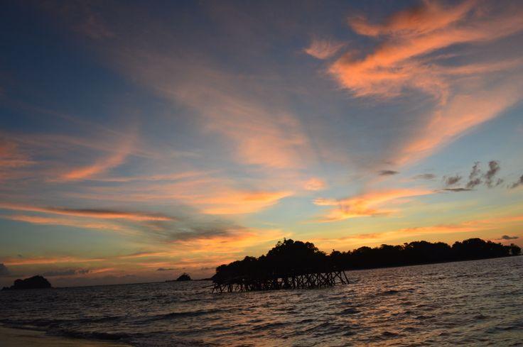 Sunset, Kiluan Bay