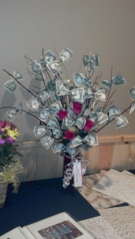Money Tree cute gift for any occasion.  My b-day in January...just in case.;)