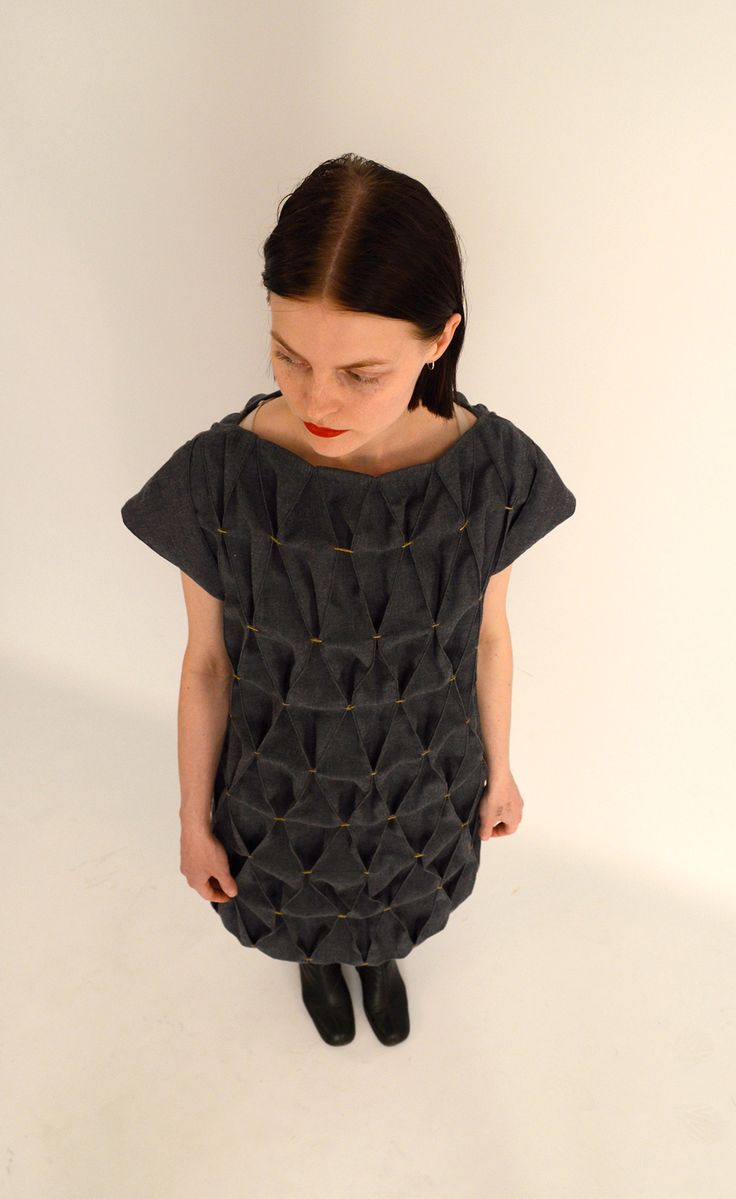 Large Honeycomb smocking  #dress #smock #fashion #couture