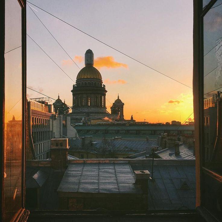 этой картинки вид петербурга из окна идеи