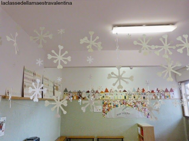 La classe della maestra Valentina: inverno