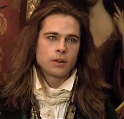 Brad Pitt in Interview with the Vampire (1994) I thought he was gorgeous in this.