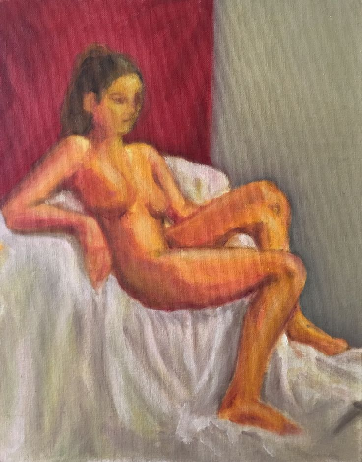 P #13. 11x14. Oil on Canvas. 2017