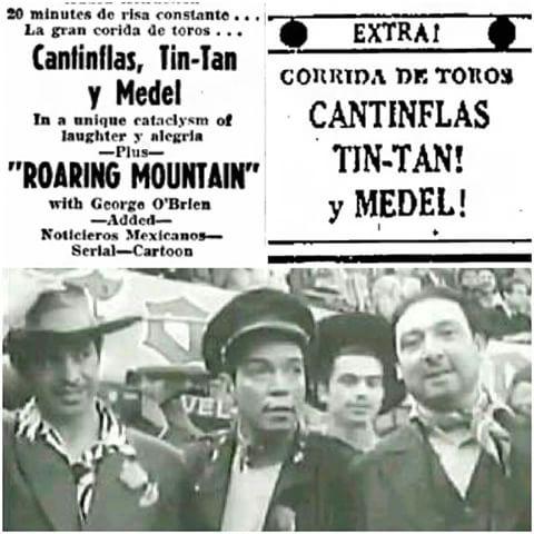 TinTan, Cantinflas y Medel, 1948, Grandes comediantes de esa epoca