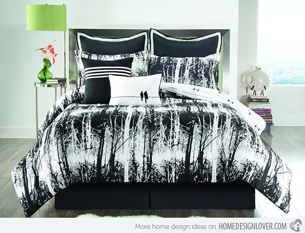 queen damask bath becca set comforter black white bed from buy beyond and