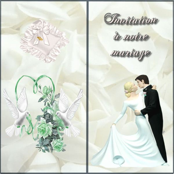 Carte Dinvitation Mariage Gratuite à Imprimer Tah
