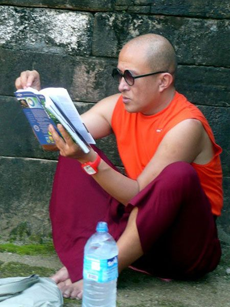 The spiritual path is a temporary solution ~ Dzongsar Khyentse Rinpoche http://quotes.justdharma.com/the-spiritual-path-is-a-temporary-solution-dzongsar-khyentse-rinpoche/  However, the path itself must eventually be abandoned, just as you abandon a boat when you reach the other shore. You must disembark once you have arrived. At the point of total realization, you must abandon Buddhism. The spiritual path is a temporary solution, a placebo to be used until emptiness is understood.  –…