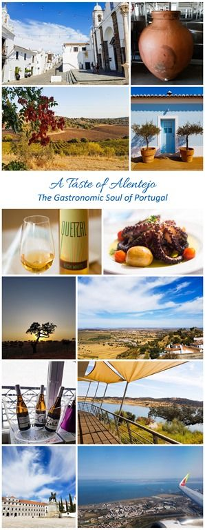 A Taste of Alentejo in Portugal - this blogpost shares the beautiful landscape of Alentejo, several fantastic wineries, great places to eat and charming places to spend the night.