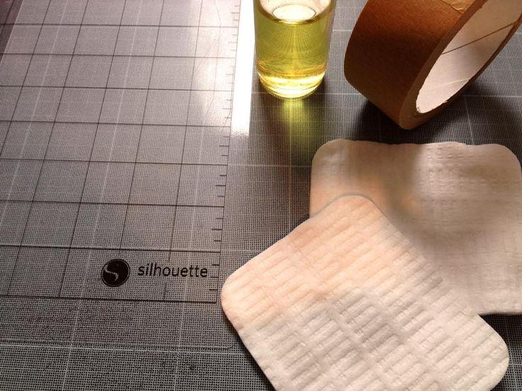Bout de papier Un bout de papier pour [presque] tout créer…  //   Comment nettoyer une feuille de transport en 5 minutes