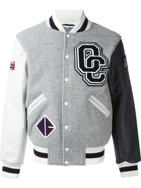 OPENING CEREMONY varsity jacket. #openingceremony #cloth #jacket
