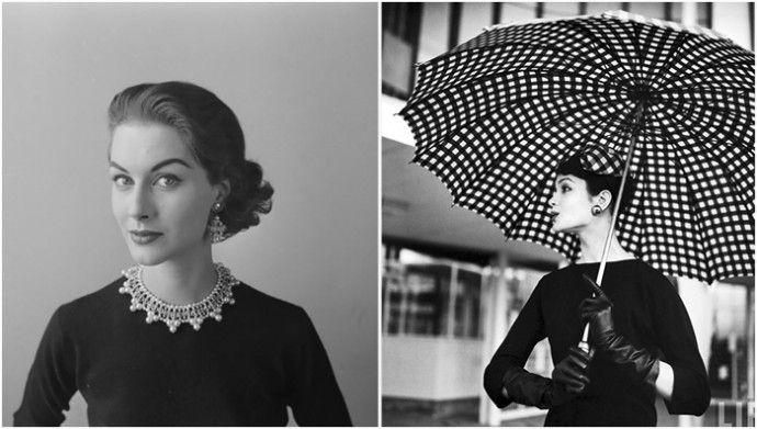Стиль, красота и изящность:  фотографии очаровательных девушек в 1940-1950х годах