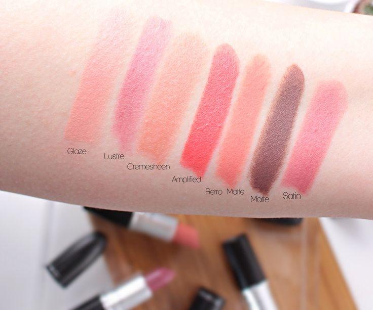 MAC læbestifter finish guide blog