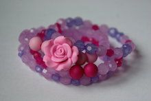 Armband-roos-roze-groot