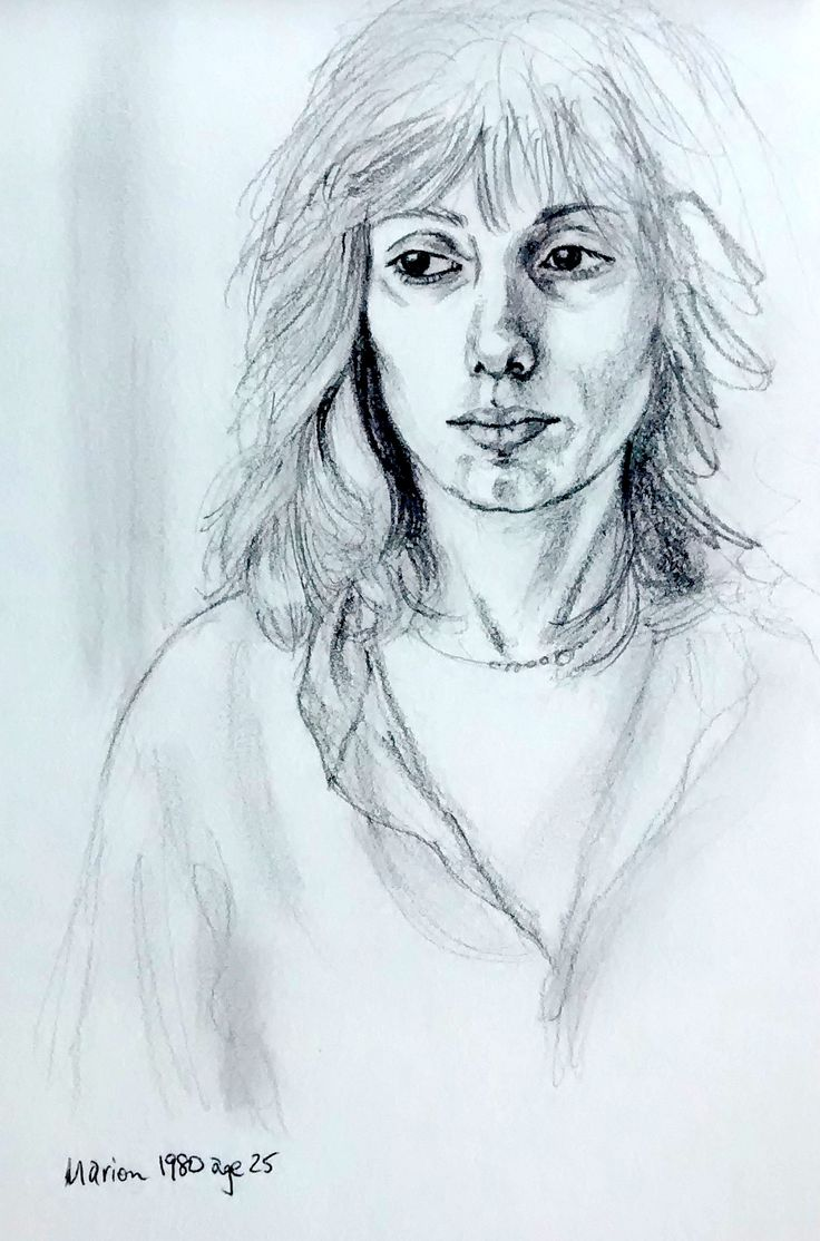 Self portrait age 25