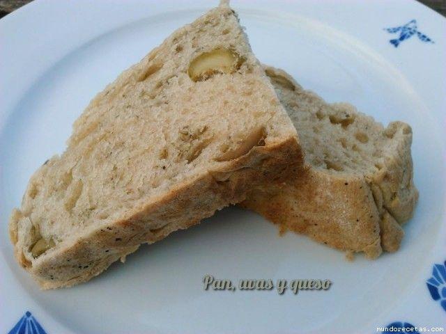 Pan de oliva verde