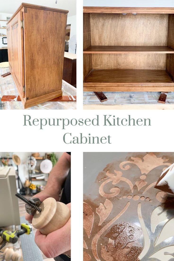 Repurposed Kitchen Cabinet In 2020 Repurposed Kitchen Old Kitchen Cabinets Kitchen Cabinets
