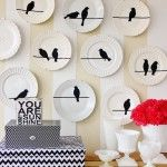 Projects: buy white plates (mismatched of course) and sharpie away!