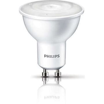 Bec LED spot Philips 2W GU10 130lm lumina calda