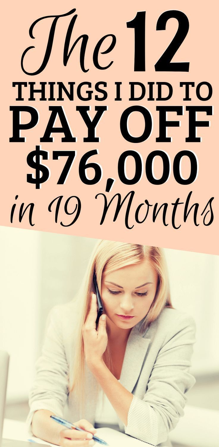 How I Paid off $76,453 in 19 Months – #budgeting #…