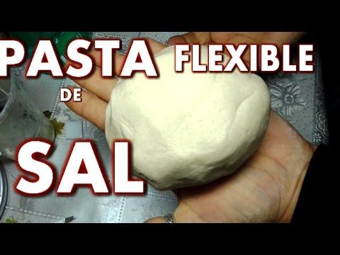 PASTA FLEXIBLE DE SAL Y CANELA - FLEXIBLE PASTE OF SALT AND CINNAMON