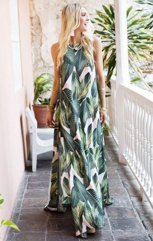 the most perfect summer maxi