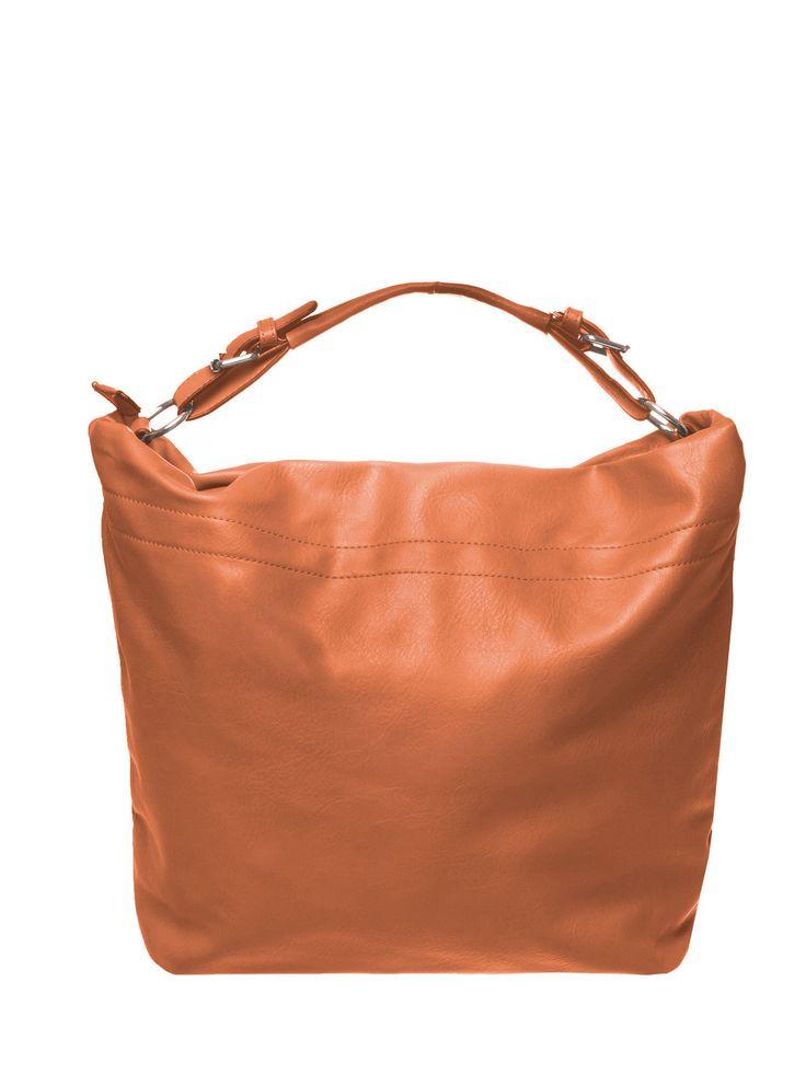 Brązowa torba hobo na ramię brązowy Akcesoria \ Torby . .. Butik 144270