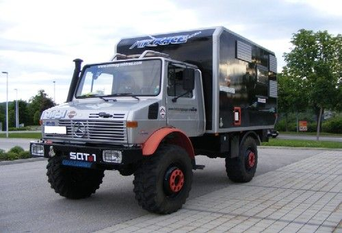 1981 unimog 435 u1700l professionally converted by friedl. Black Bedroom Furniture Sets. Home Design Ideas