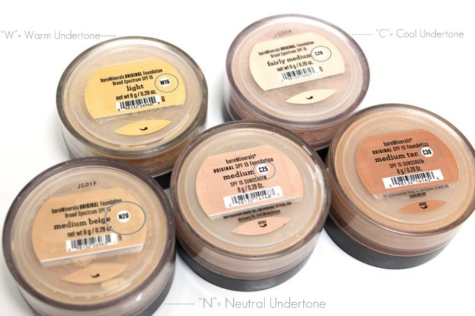 1000 Ideas About Bare Minerals Foundation On Pinterest