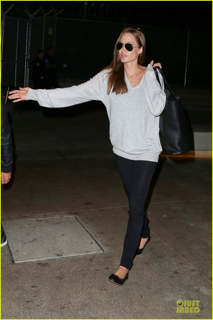 HOT MAMA: Angelina Jolie & Maddox Depart LAX Airport Sans Brad Pitt on Valentine's Day!   angelina jolie maddox depart lax airport sans brad pitt 15 -...