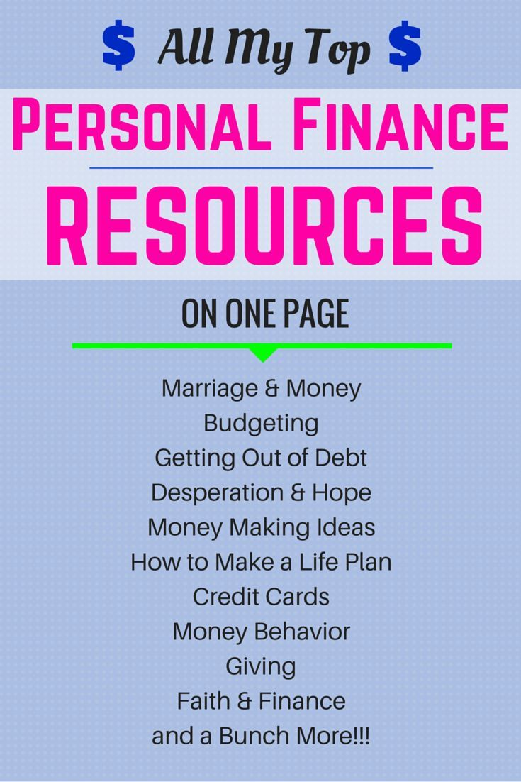 All of my best personal finance articles available to you on one page just click