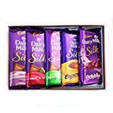 #7: Cadbury Dairy Milk Silk Combo Pack (Pack Of 5) 270Gm