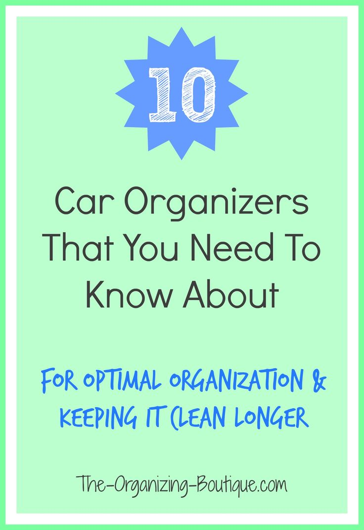 13 Best Organizing The Car Images On Pinterest Autos Ac Motor Hookup Electrical Ask Metafilter 10 Organizers You Need To Know About For Optimal Organization Keeping It Clean Longer