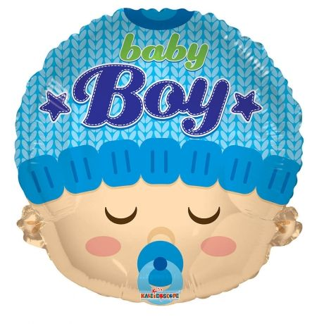 #Bunches.co.uk Baby Boy Balloon BBOYH #Celebrate the arrival of a new baby boy with this cute 18 baby boy balloon!The balloon is delivered inflated in the box and comes with your own personal message.