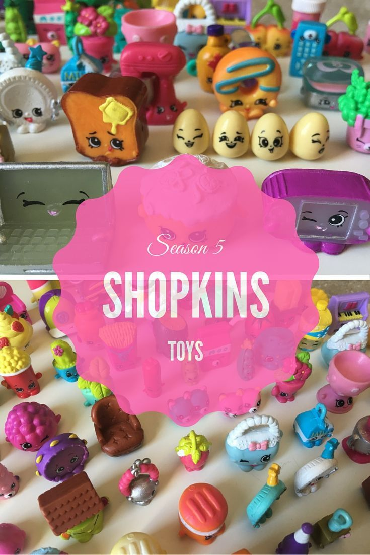 Our Shopkins Season 5 12-pack REVEALED !  SEE OUR SHOPKINS!