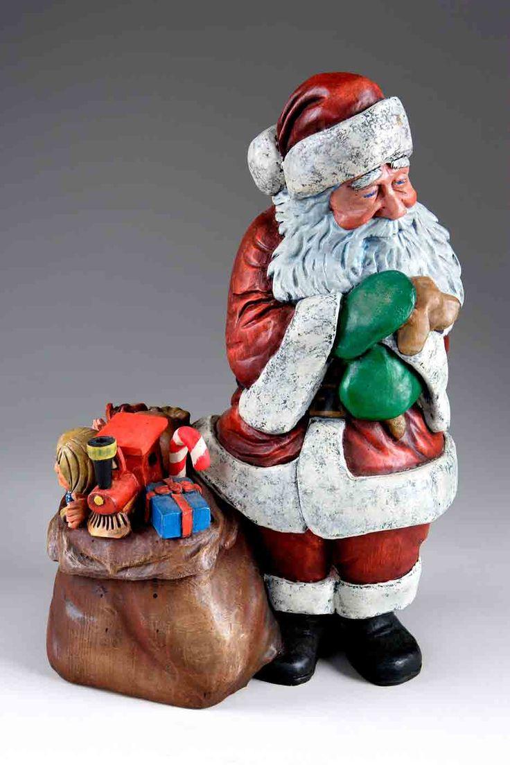 435 best ceramic santa claus images on pinterest merry christmas