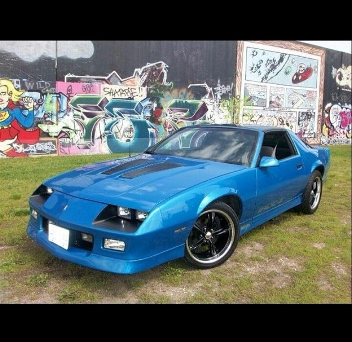 Royal Chevrolet Used Cars: Blue 3rd Gen Camaro
