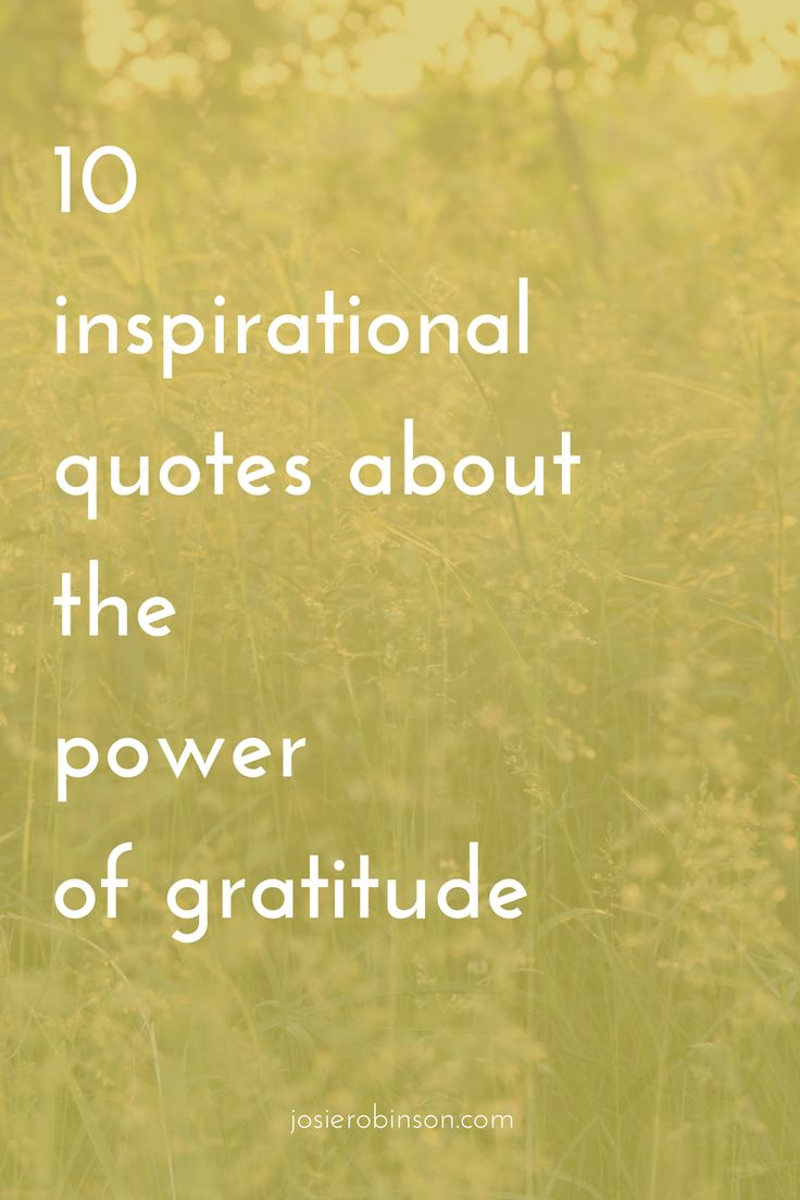 10 Inspirational Quotes About the Power of Gratitude | Beautiful The ou0026#39;jays and Motivation