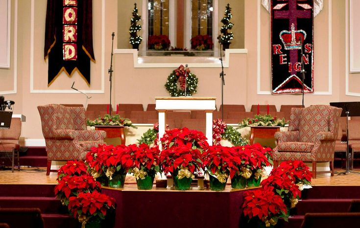 Simple Church Christmas Decoration Ideas : Images about church decor on