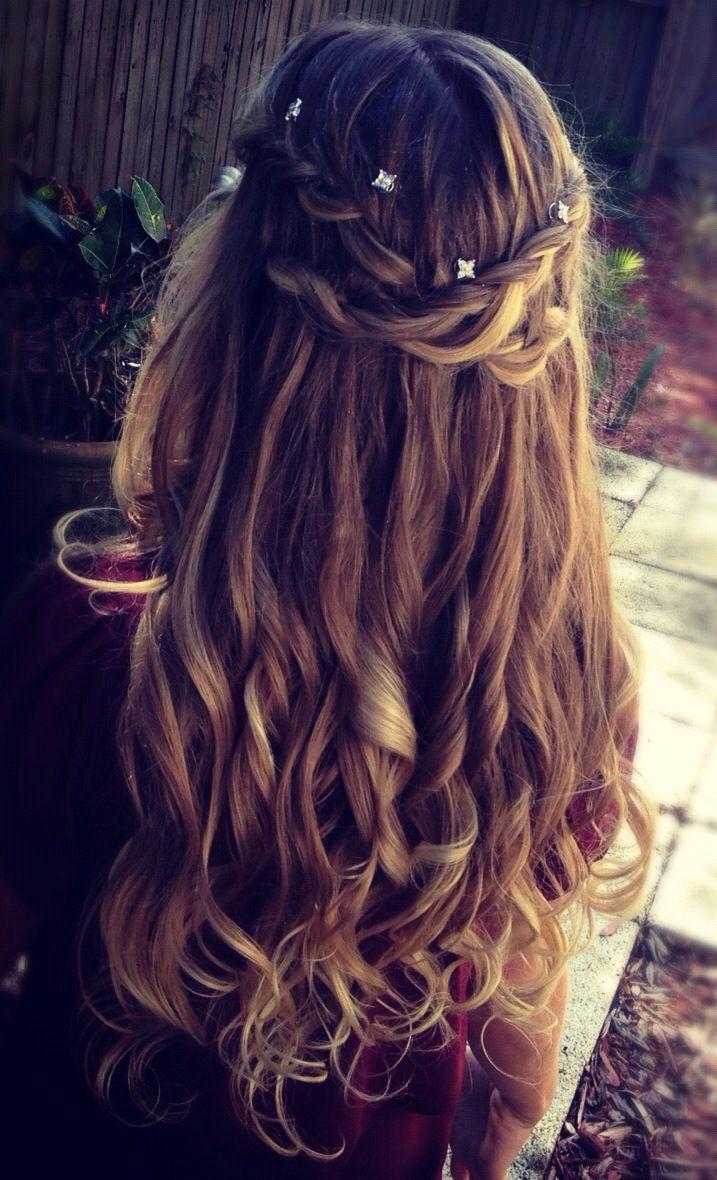 cross braided hair