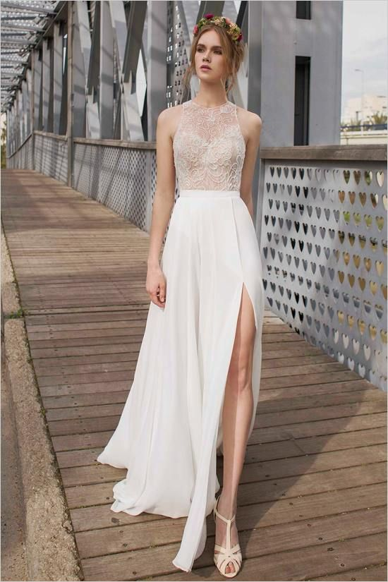 Editor's Picks: 20 Edgy Lace Wedding Dresses - MODwedding