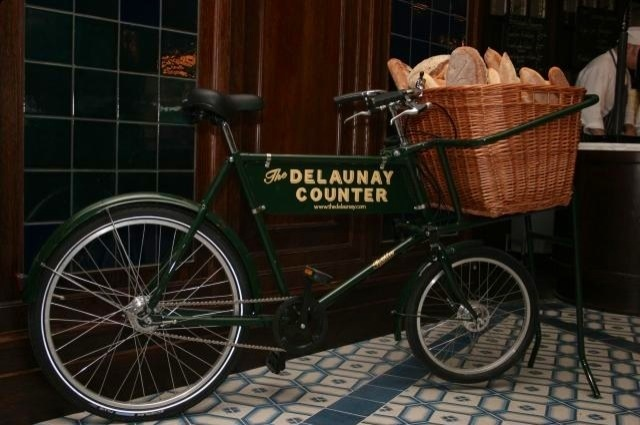 The town with the bread bike